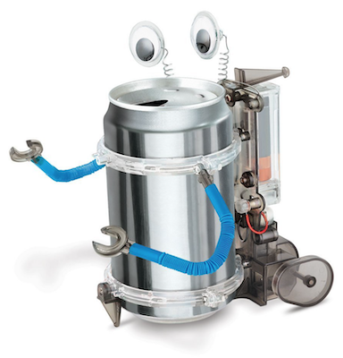 Tin Can or Soda Can Robot