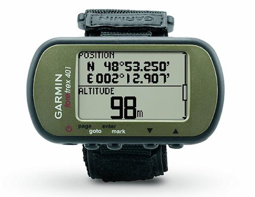 Waterproof Hiking GPS wearable device gadget