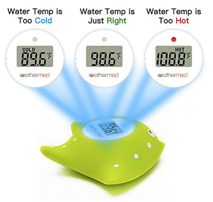 Baby Bath Thermometer and Toy