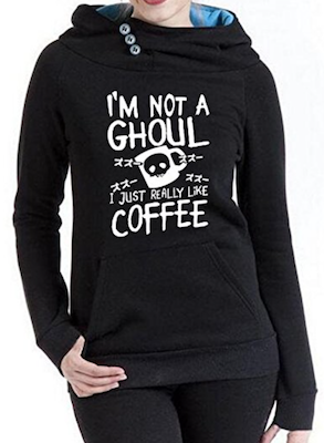 Funny Hoodie About Coffee Love