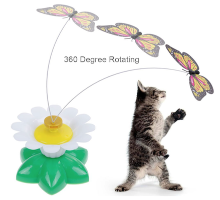 Interactive Butterfly Toy for Cats