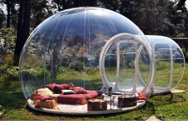 Fully Transparent Tent