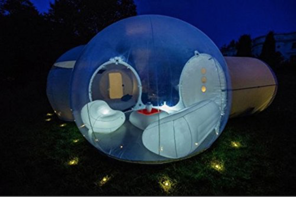 Two Room Family size inflatable Bubble Tent