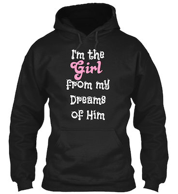 Couple hoodie for her with funny love quote on the front