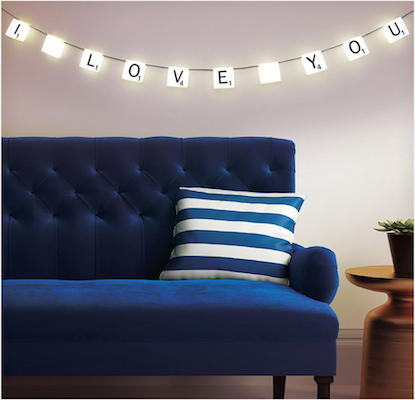 scrabble lights i love you home decor idea