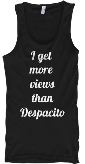 Funny Despacito Tank Top