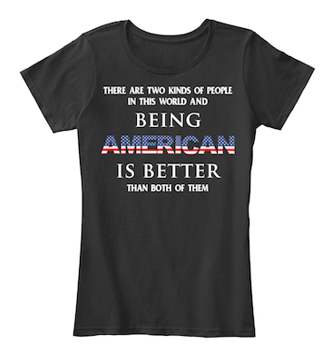 4th of July Women shirt with ultimate American pride quote
